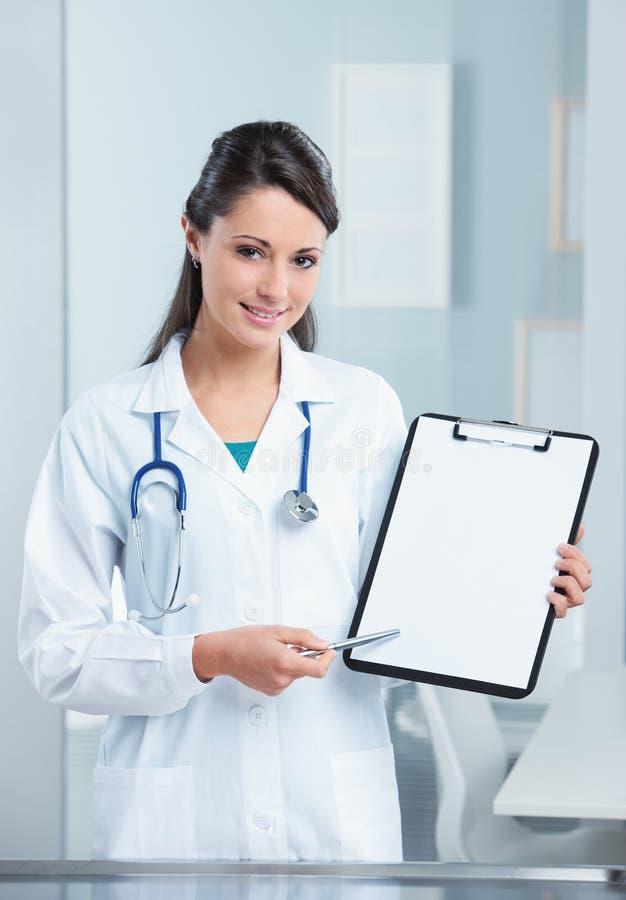 Vrouwelijke arts royalty-vrije stock foto