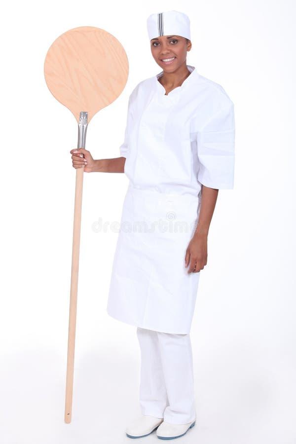 Vrouwelijke bakker royalty-vrije stock fotografie