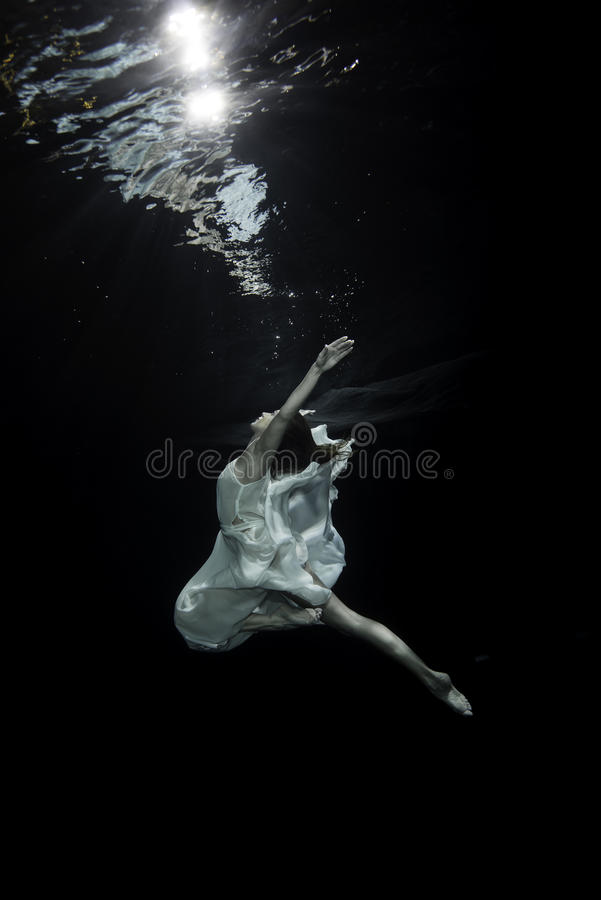 Vrouwelijke balletdanser royalty-vrije stock foto