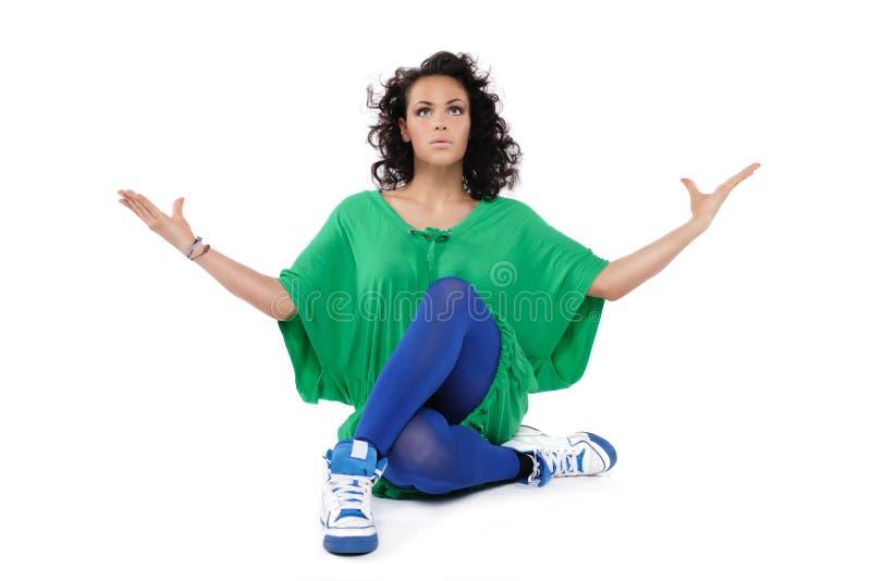 Vrouwelijke danser royalty-vrije stock foto's