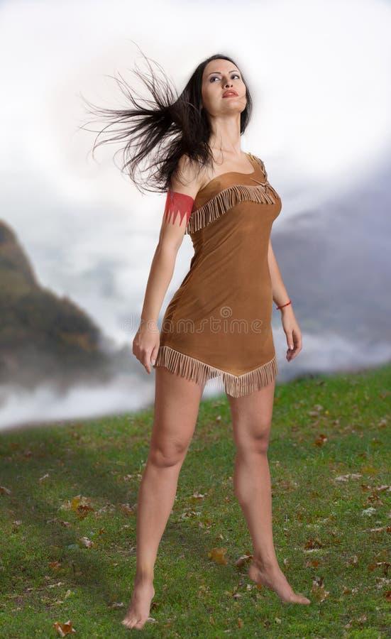 Vrouwelijke druïde royalty-vrije stock foto's