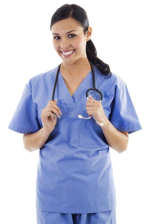 Vrouwelijke gezondheidszorgarbeider stock foto