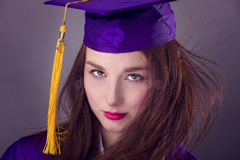 Vrouwelijke Graduatie royalty-vrije stock fotografie