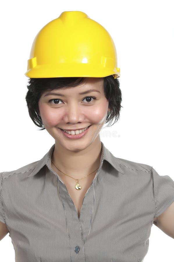 Vrouwelijke Ingenieur royalty-vrije stock foto's