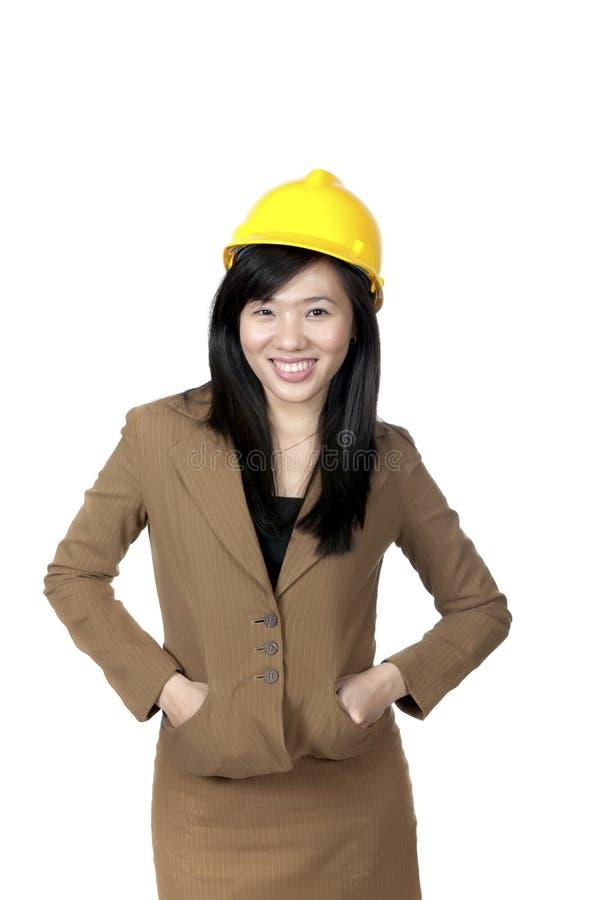 Vrouwelijke Ingenieur royalty-vrije stock foto