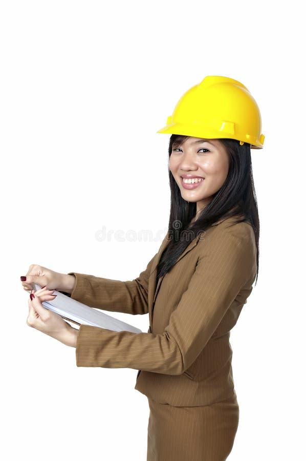Vrouwelijke Ingenieur stock fotografie