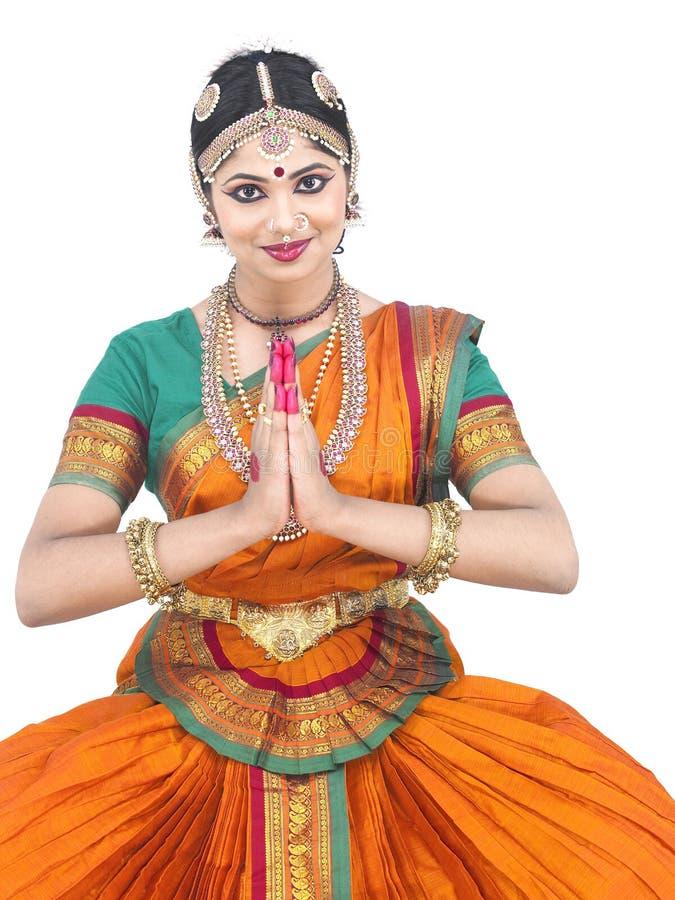Vrouwelijke klassieke danser van Azië royalty-vrije stock foto