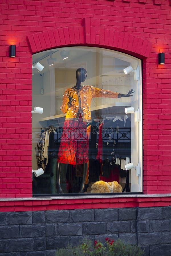 Vrouwelijke ledenpop in modieuze kleding royalty-vrije stock afbeelding