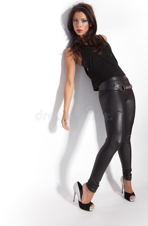 Vrouwelijke mannequin royalty-vrije stock afbeeldingen