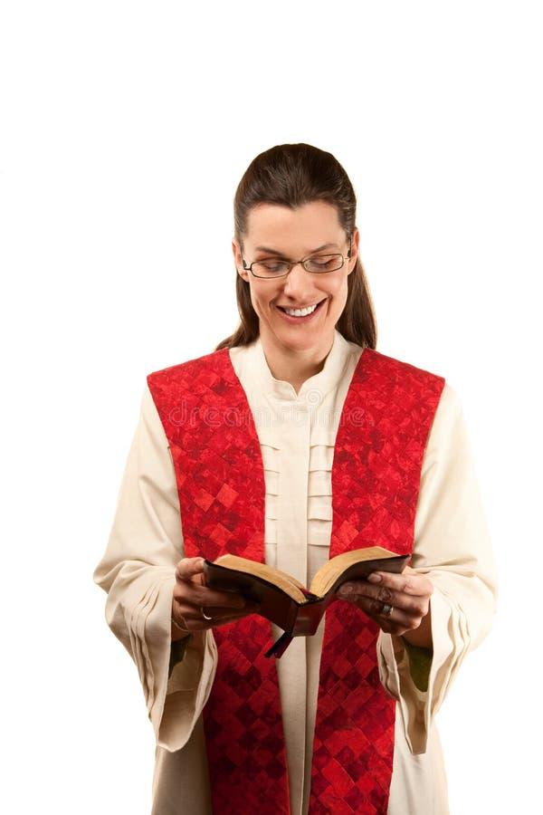 Vrouwelijke Predikant royalty-vrije stock fotografie
