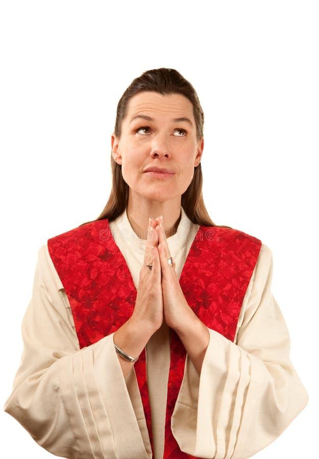 Vrouwelijke prediker royalty-vrije stock foto