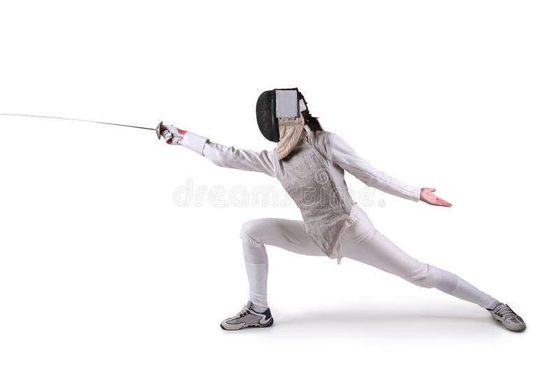Vrouwelijke schermer royalty-vrije stock foto