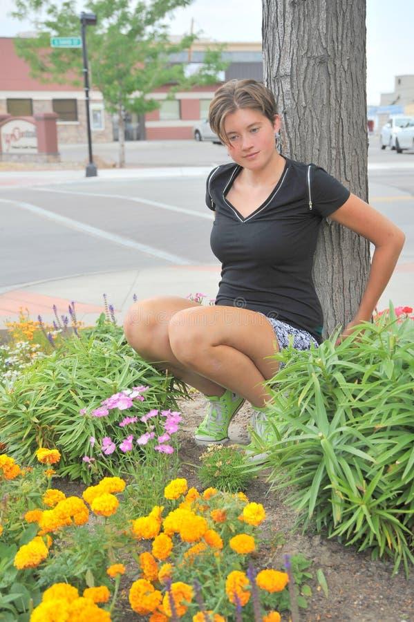Vrouwelijke schoonheidsuitdrukkingen stock fotografie