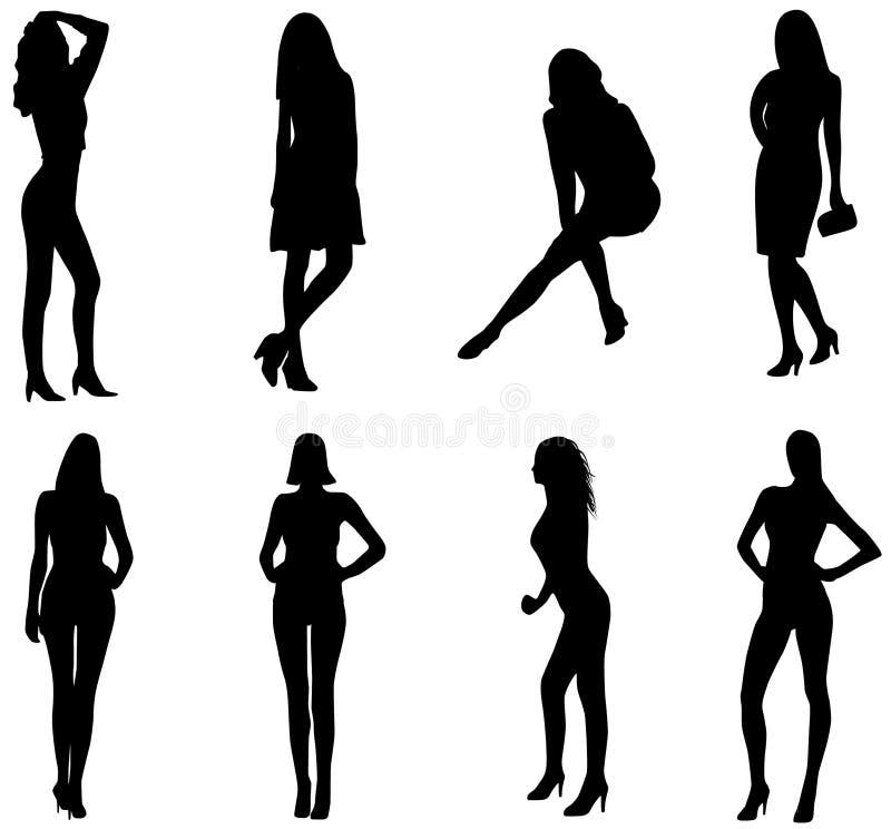 Vrouwen royalty-vrije illustratie