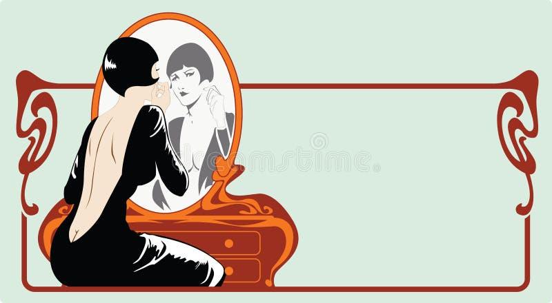 Vrouwen stock illustratie