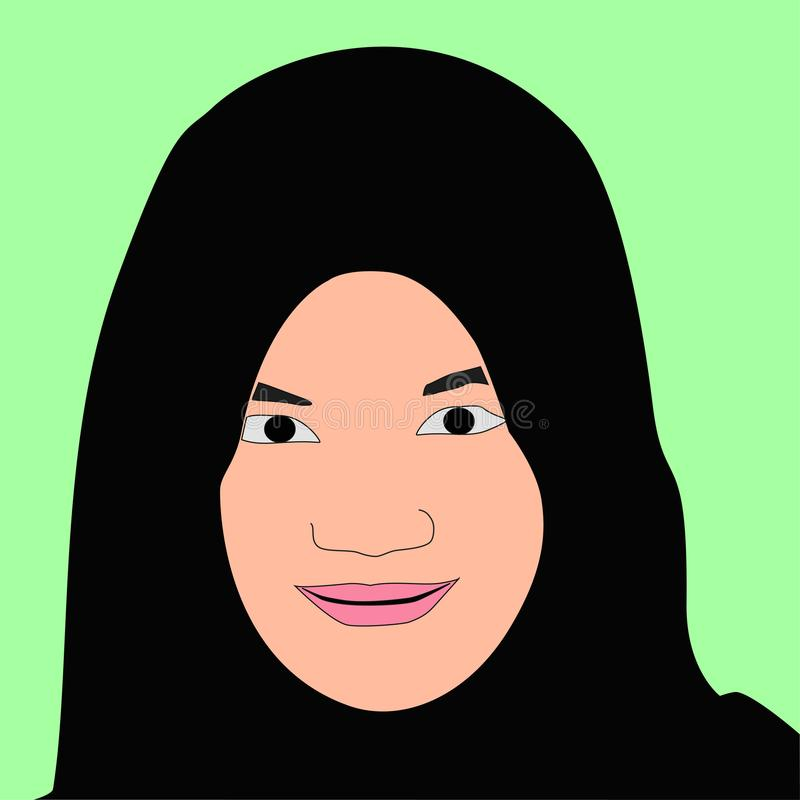 Vrouwen in Hijab royalty-vrije stock foto