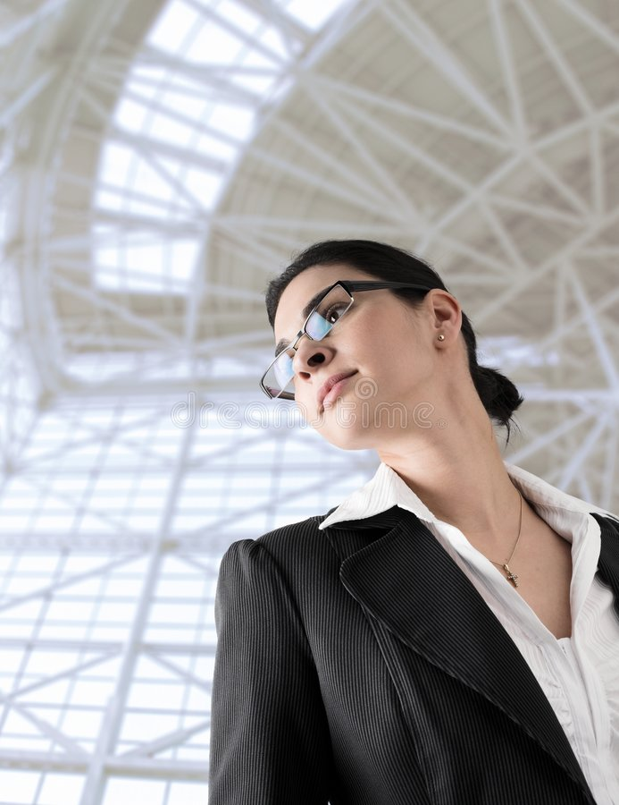 Vrouwen in zaken stock fotografie