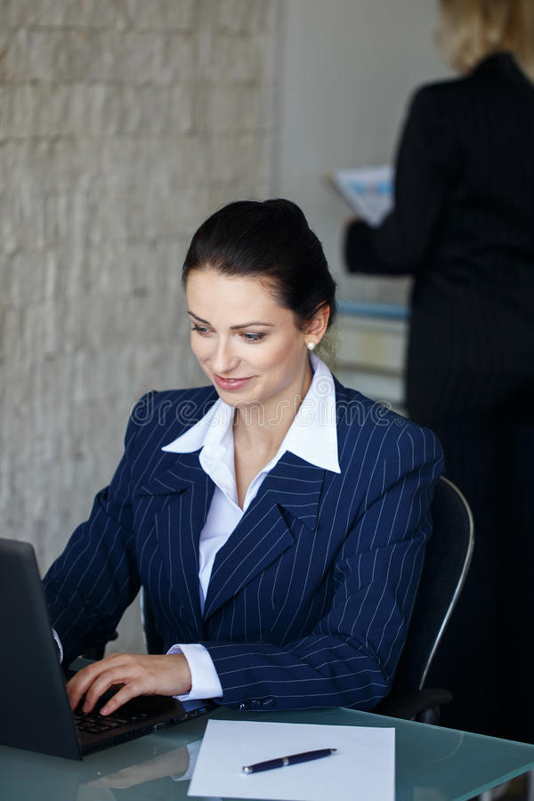 Vrouwen in Zaken royalty-vrije stock foto