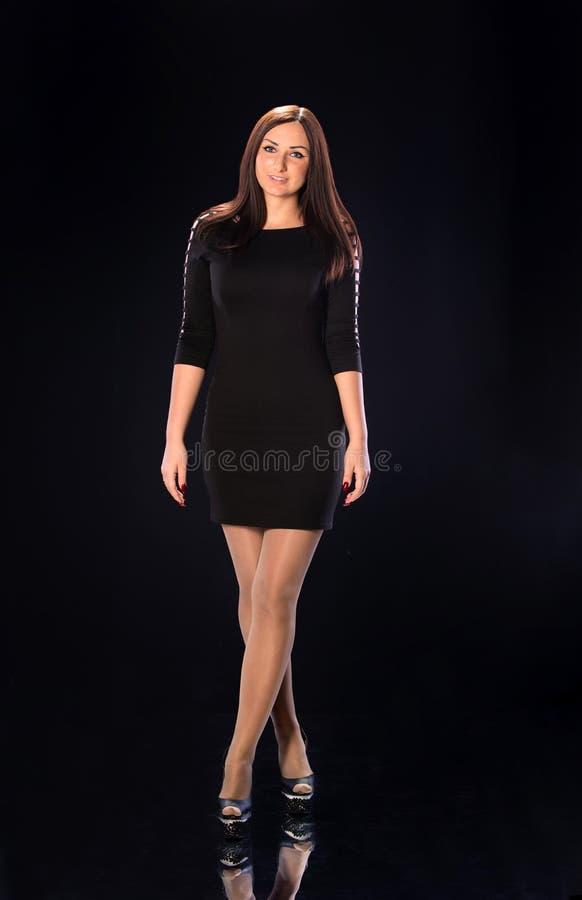 Vrouwenmodel royalty-vrije stock foto