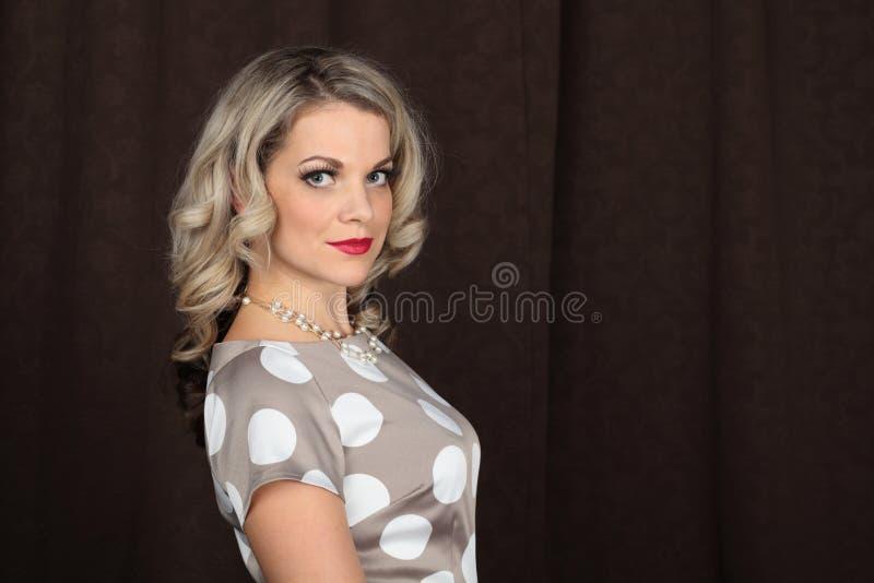 Vrouwenportret royalty-vrije stock afbeeldingen