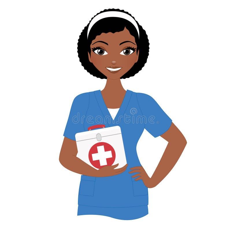 Vrouwenverpleegster stock foto's