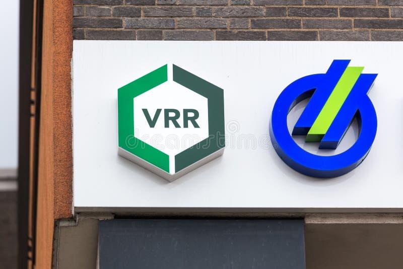 Vrr подписывает внутри Хаген Германию стоковые фото