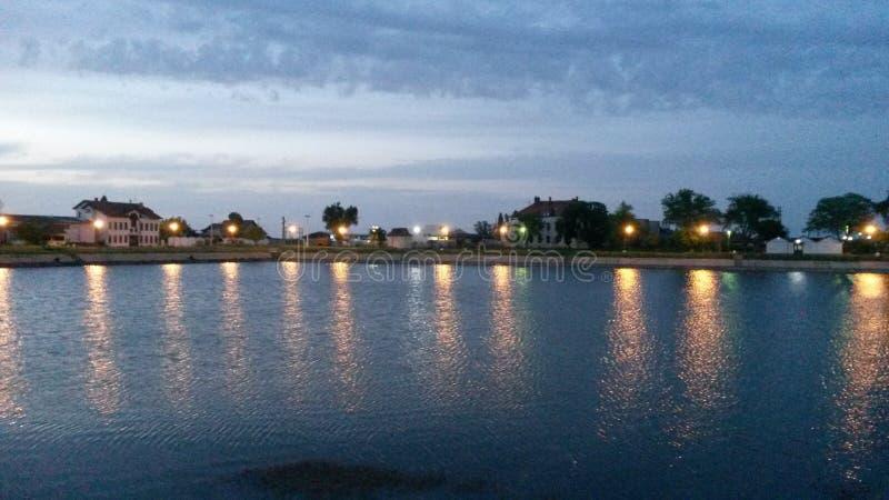 Vrsacko jezero Vrsac jezioro obraz royalty free