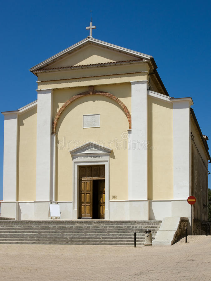 Vrsar church royalty free stock photos
