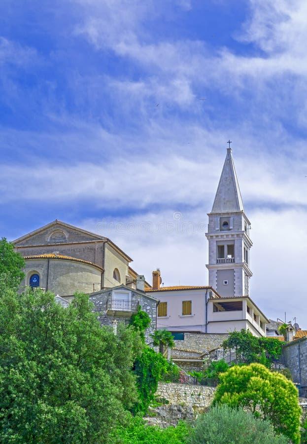 Vrsar, Istria, Хорватия стоковое фото
