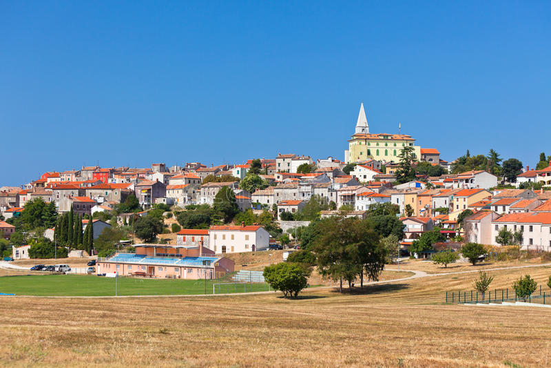 Vrsar, Istria, Croazia fotografie stock libere da diritti