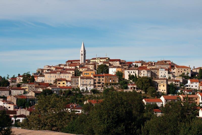 Vrsar, Kroatië stock afbeelding