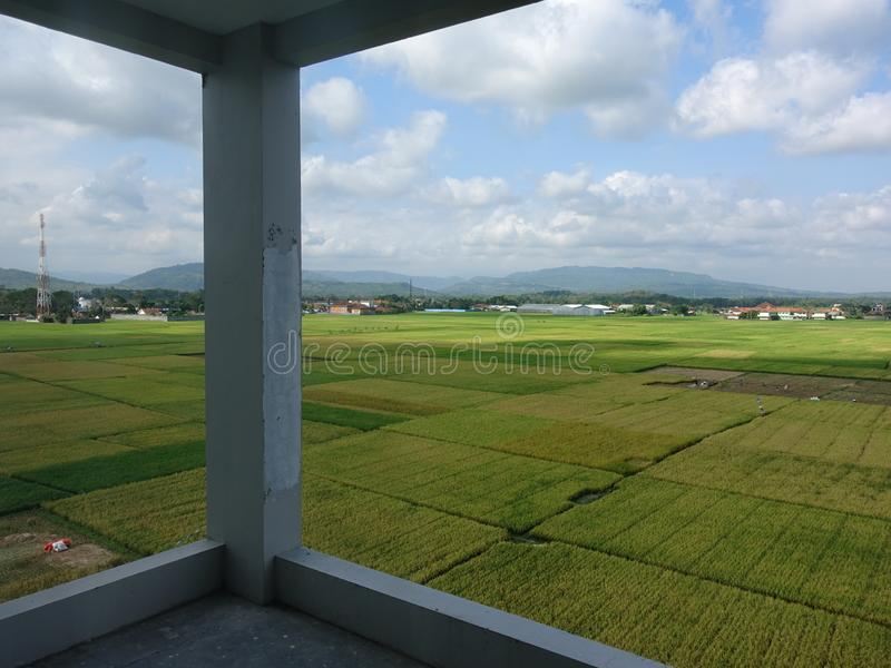 Vruchtbaar landbouwland royalty-vrije stock foto