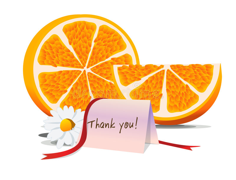 Vruchtbare dank! - stock illustratie
