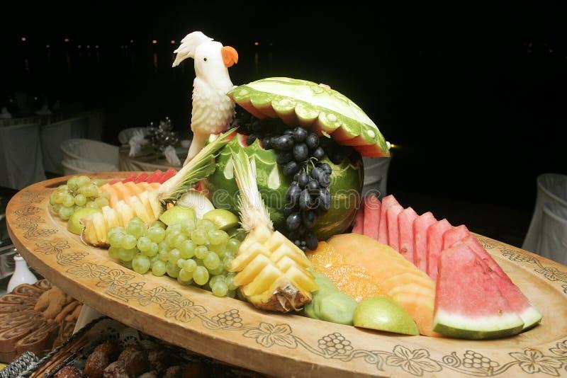 Vruchten decoratie royalty-vrije stock foto's