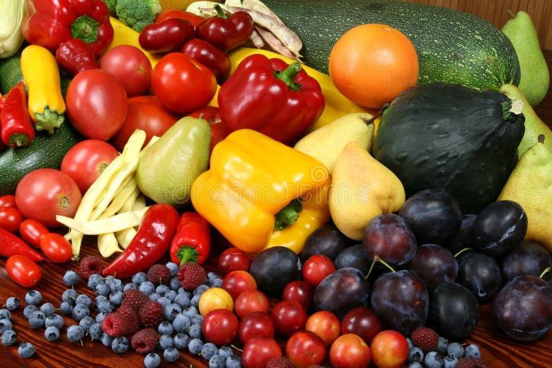 Vruchten en groenten. royalty-vrije stock fotografie