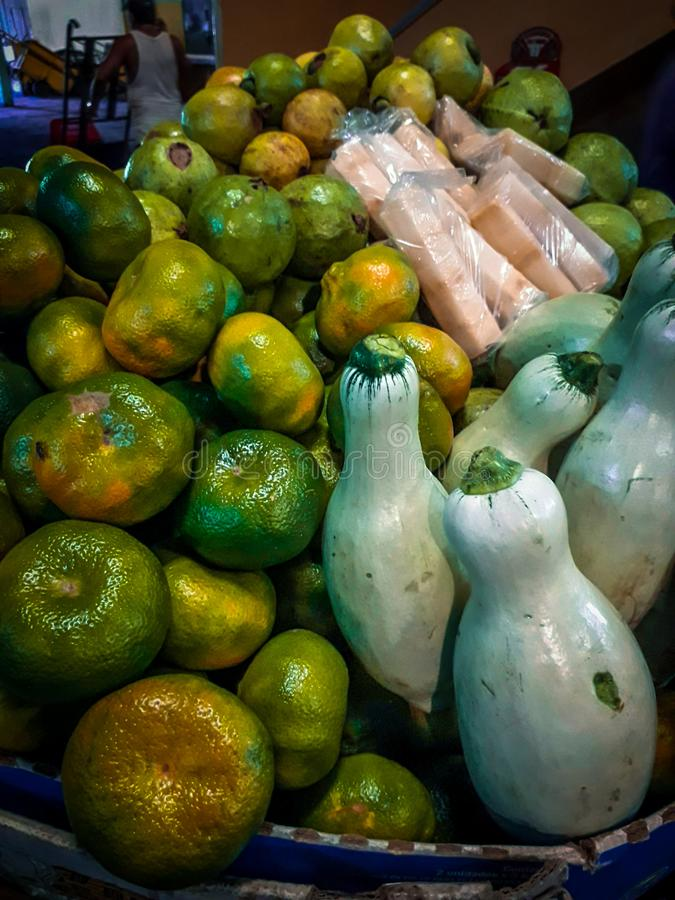 Vruchten en groenten van Nicaragua royalty-vrije stock afbeelding