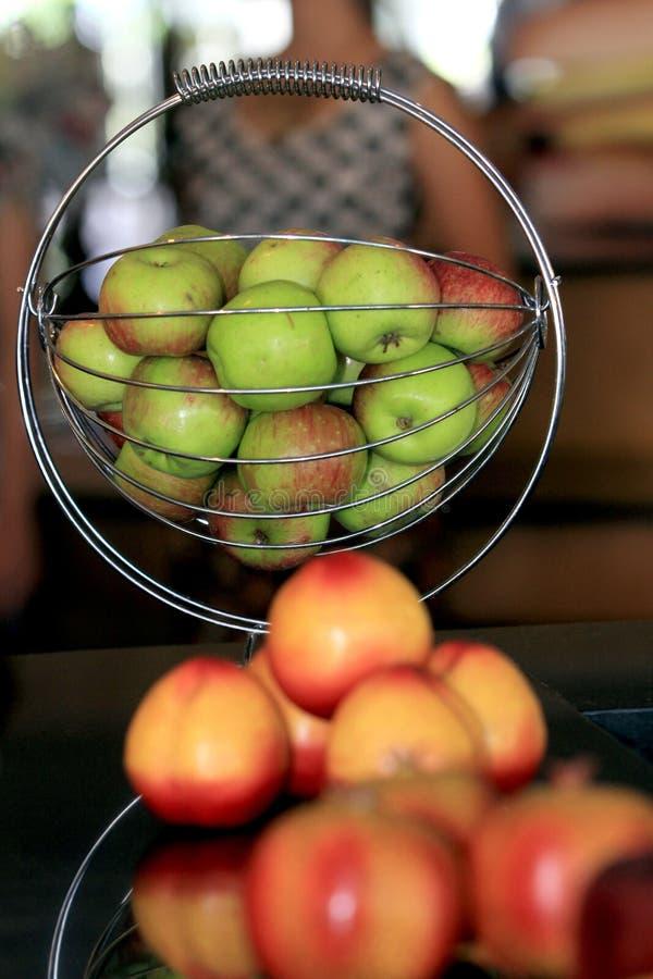 Vruchten en kruiden stock afbeelding