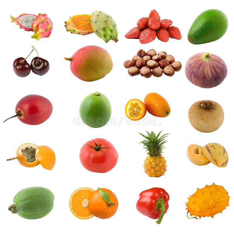 Vruchten en noten royalty-vrije stock foto