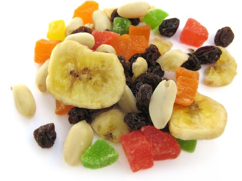 Vruchten en noten royalty-vrije stock fotografie