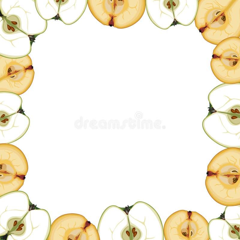 Vruchten Grens royalty-vrije illustratie