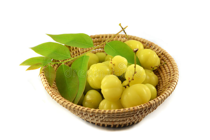 Vruchten met hoge vitamine Cinhoud stock afbeelding
