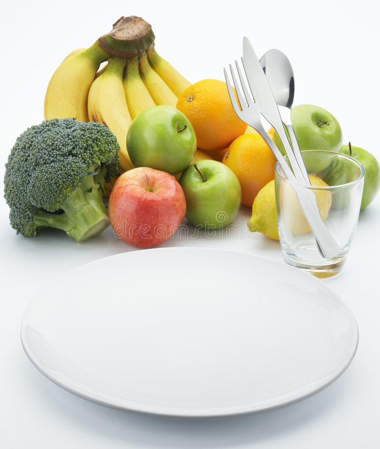 Vruchten voor gezond stock fotografie