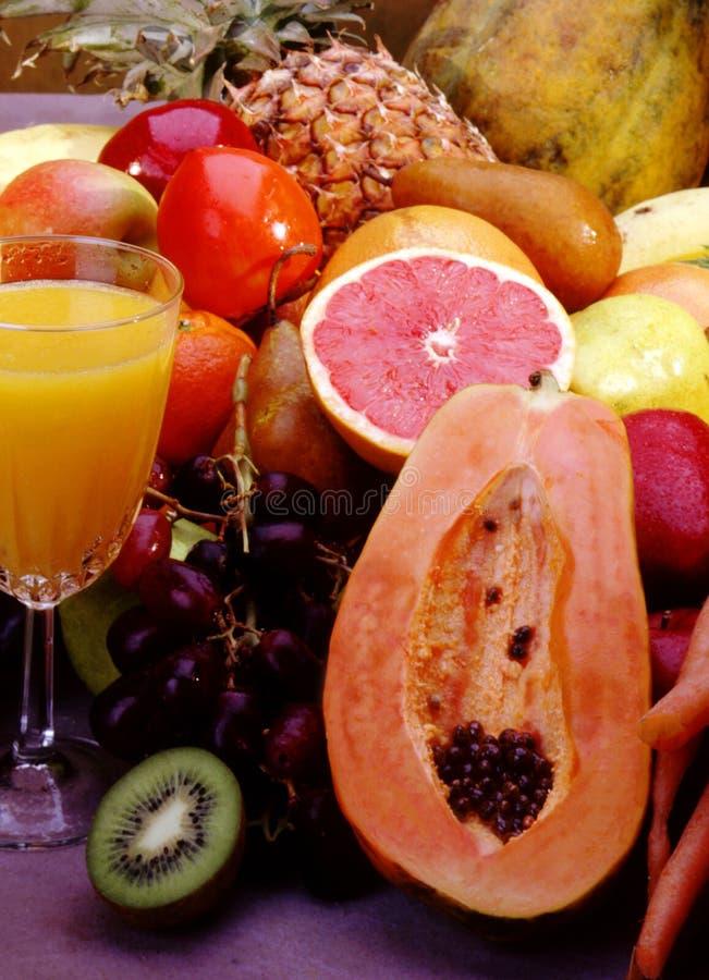 Vruchten Voor Sap Royalty-vrije Stock Foto