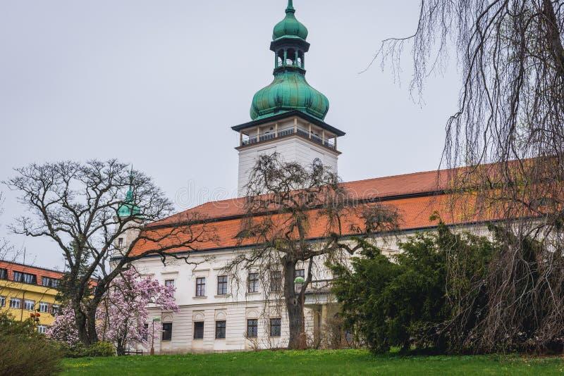 Vsetin in der Tschechischen Republik lizenzfreie stockfotos