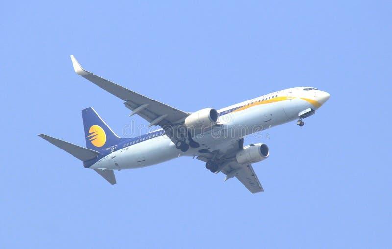 VT-JFL αεριωθούμενοι εναέριοι διάδρομοι Boeing 737-800 στοκ εικόνες