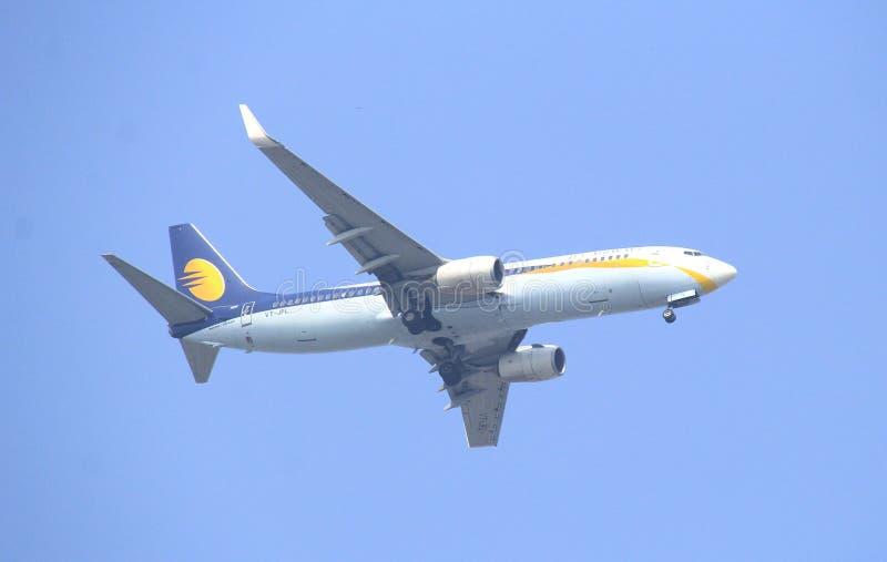 VT-JFL Jet Airways Boeing 737-800 images libres de droits