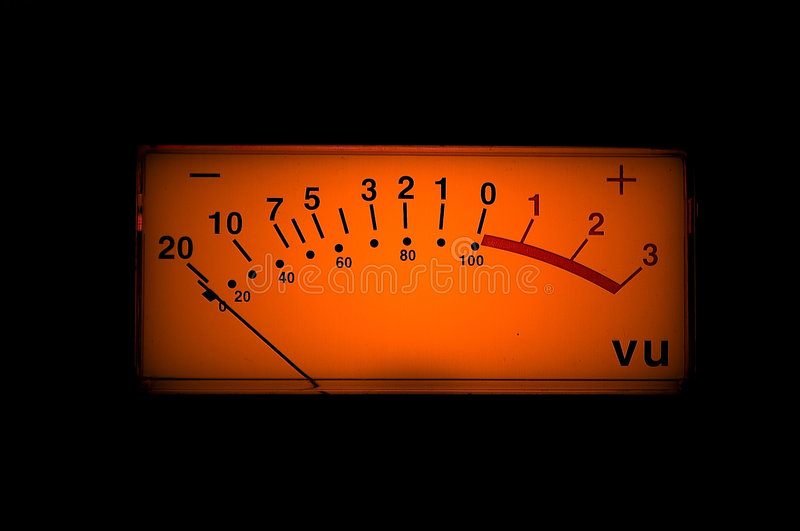 Download Vu meter stock photo. Image of peak, media, meters, record - 9336480