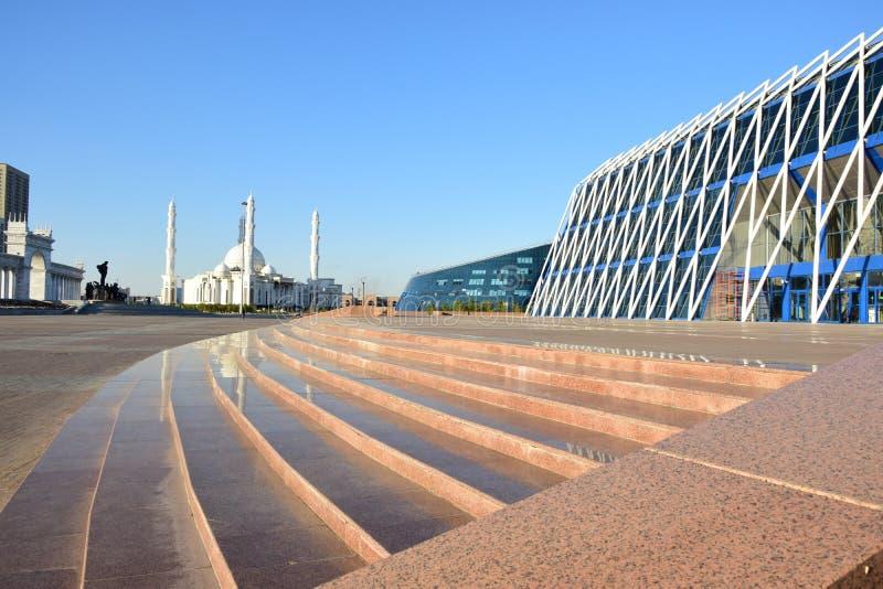 Vue à Astana images stock