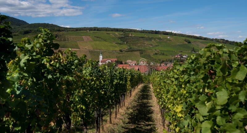 Vue à Barr en Alsace image stock