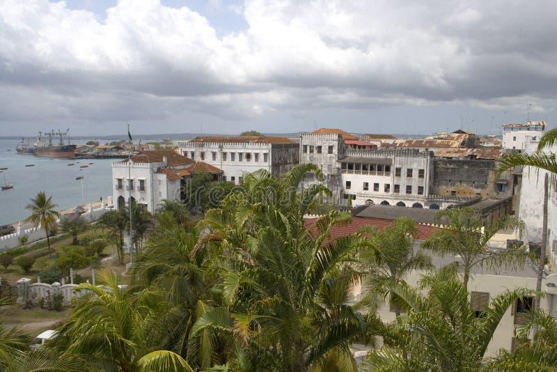 Vue à Zanzibar photo stock